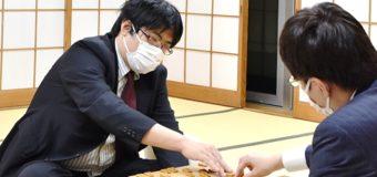 第46期棋王戦挑戦者決定二番勝負 第2局 ▲糸谷哲郎八段 − △広瀬章人八段