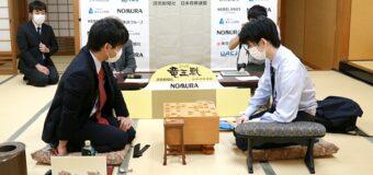 第34期竜王戦決勝トーナメント ▲八代弥七段 – △藤井聡太二冠